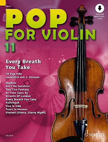 Pop for Violin: Every Breath You Take. Band 11. 1-2 Violinen. Ausgabe mit Online-Audiodatei.