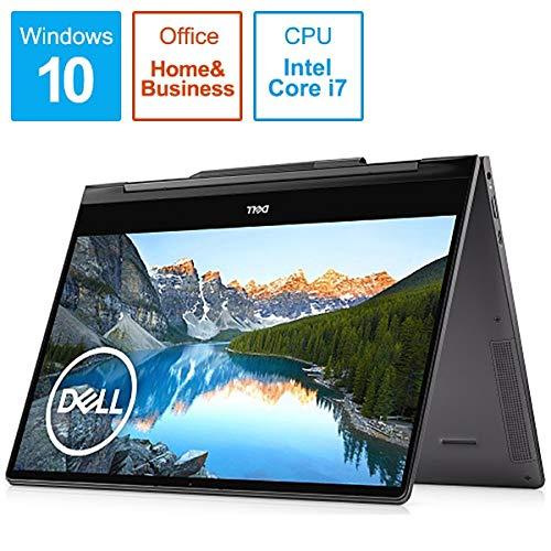DELL(デル) Inspiron 13 7391 2-in-1 (ブラック) 13.3型 ノートパソコン[Core i7-10510U / 8GB / 512GB(SSD)/ Office Home & Business 2019] MI773CP-9WHBC