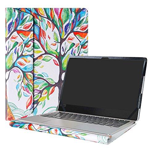 """Alapmk Schutz Abdeckung Hülle für 13.3\"""" Lenovo IdeaPad 720S 13 720S-13IKB / IdeaPad 320S 13 320S-13IKB / IdeaPad 710S 13 710S-13IKB 710S-13ISK Notebook,Love Tree"""