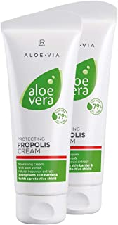 LR ALOE VIA Aloe Vera Schützende Propolis Creme 2x 100 ml
