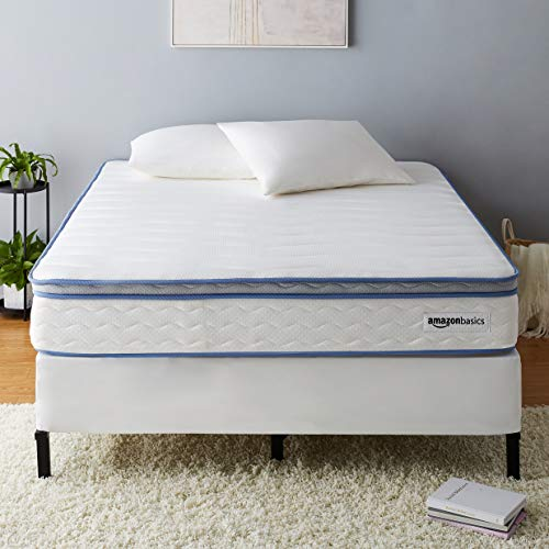 Why Should You Buy AmazonBasics Hybrid Mattress – Memory Foam With Strong Innerspring Support – Medium Feel – CertiPUR-US – 10-Inch, Cal King