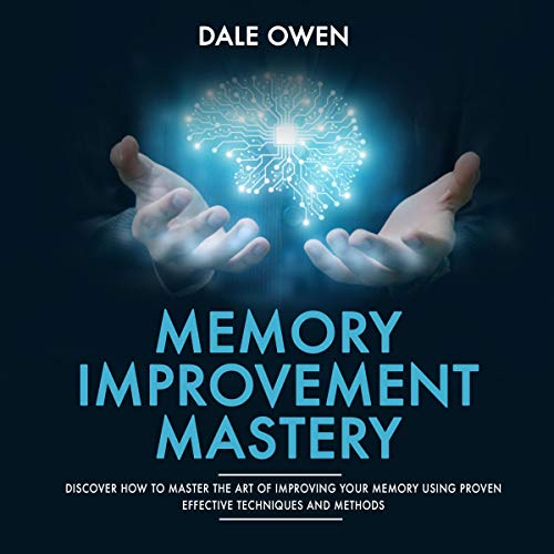 Memory Improvement Mastery audiobook cover art