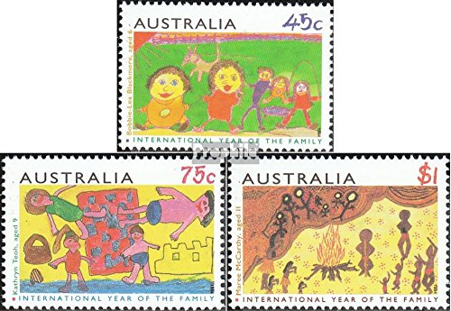 Australie 1399-1401 (complète.Edition.) 1994 Dessins d'Enfants (Timbres pour Les collectionneurs)