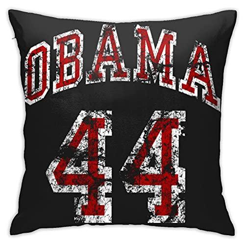 Obama 44° Presidente degli Stati Uniti Federa per cuscino