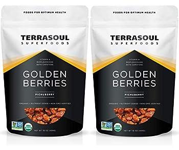 Terrasoul Superfoods Organic Golden Berries 2 Pounds