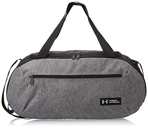 Under Armour Undeniable Duffle 4.0 kompakte Sporttasche, wasserabweisende Umhängetasche Unisex, Grau (Graphite/Black/White (040)), S