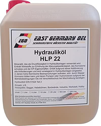 Hydrauliköl HLP 22 Kanister 5 Liter für Holzspalter und Hebetechnik