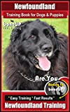 Newfoundland Training Book for Dogs & Puppies By BoneUP DOG Training: Are You Ready to Bone Up? Easy Steps * Fast Results Newfoundland Training
