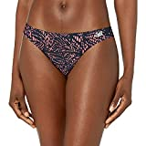 New Balance Women's Breathe mesh Ultra Lightweight Thong Underwear (Pack of 1), Guava Print, Medium (10-12)
