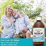 Natures aide 500ml de foie de morue huile liquide #2