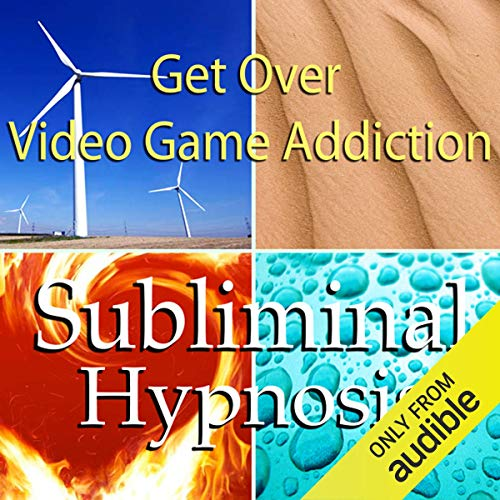 Get Over Video Game Addiction Subliminal Affirmations audiobook cover art