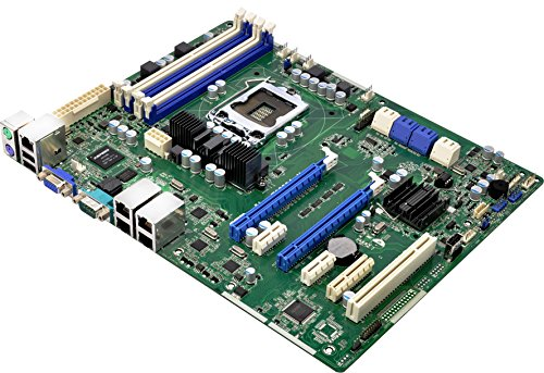 Asrock e3 C204 – 4L Mainboard Sockel 1155 Intel C204, DDR3, S-ATA 600, ATX Up Lösung für Application Server