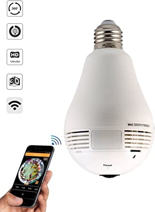 Câmera Lâmpada LED 360º WIF