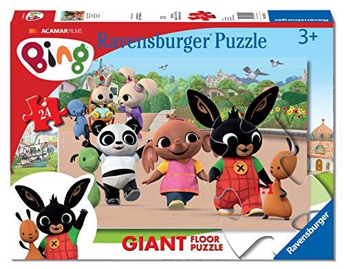 Ravensburger Bing 2 Puzzle, Pavimento, 24 Pezzi, 03013