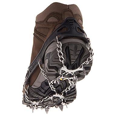 Kahtoola MICROspikes Footwear Traction - Black Medium - 2016/17