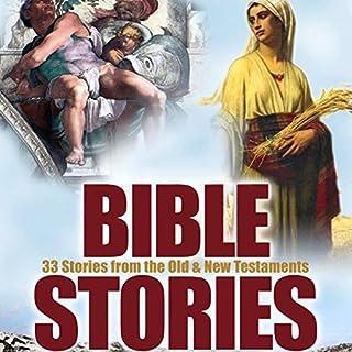 Bible Stories audiobook cover art