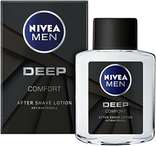 NIVEA MEN DEEP After Shave im 6er Pack (6 x 100 ml)