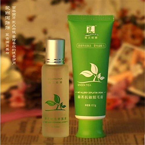 Buy Green Tea Permanent Hair Removal Cream Hair Removal Cream