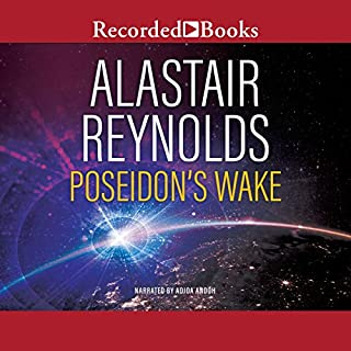 Poseidon's Wake audiobook cover art