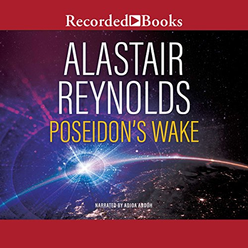 Poseidon's Wake audiobook cover art