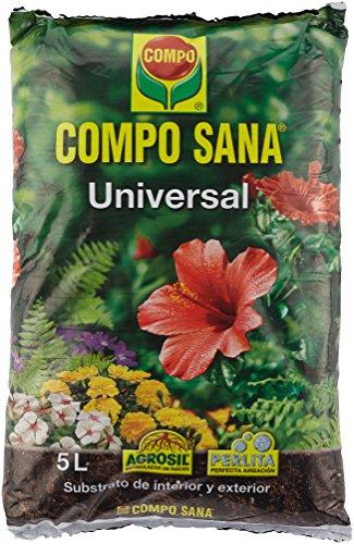 Compo Sana Substrato Universal de 5 L, Multicolor, 37 x 23 x