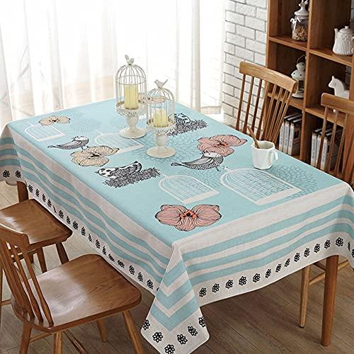XXDD Mantel de árbol Simple Cubierta de Mesa Rectangular decoración del hogar Mantel de café Banquete Muebles Cubierta de Fondo A1 150x210cm