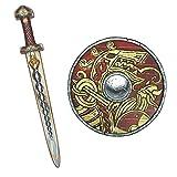Liontouch 50006LT Set Vikingo para niños | Espada y Escudo de gomaespuma para el Juego simulación