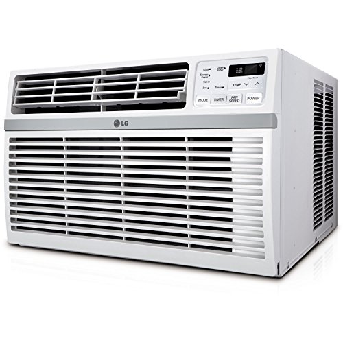 LG Window-Mounted Air Conditioner with Remote Control