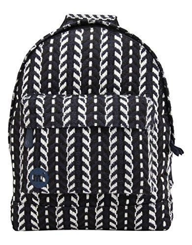 Mi-Pac Premium, Mochila Tipo Casual, 41 cm, 17 litros, Folk Knit Navy