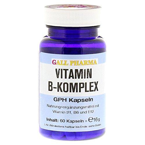 Gall Pharma Vitamin B-Komplex GPH Kapseln, 60 Stück, 1er Pack (1 x 60 Stück)