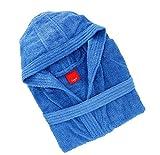 Gabel 09300 23 Accappatoio, 100% Cotone, Bluette, Large