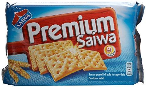 Saiwa Premium Galletas Con Gránulos de Sal 315g