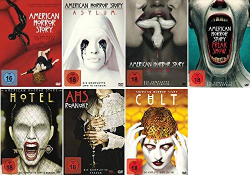 American Horror Story Staffel 1-7 (1+2+3+4+5+6+7) [DVD Set]