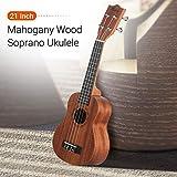 Immagine 2 muslady ukulele 21 pollici soprano