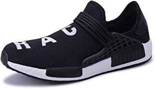 Lucky Exclusive Mens Womens Unisex Lightweight Fashion Sneakers Breathable Lace-up Athletic Sports Shoes Human Race Casual Running Shoes