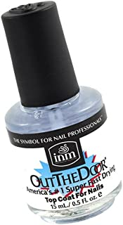 Out The Door Number 1 Super Fast Drying Nail Top Coat For Nail | size 0.3 fl oz / 9 ml