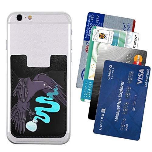 Genertic RATATOSKR - Portafoglio per Carte di Credito, Biglietti da Visita e Chiavi, Tasca per Telefono per Tutti i telefoni