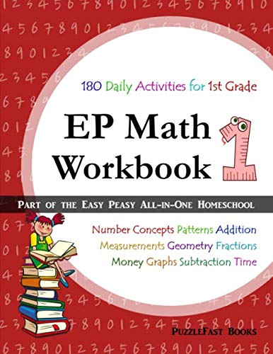 Ep Math 1 Workbook Part Of The Easy Peasy All In One Homeschool