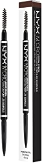 NYX PROFESSIONAL MAKEUP Micro Brow Pencil, Eyebrow Pencil, Brunette,1 Count