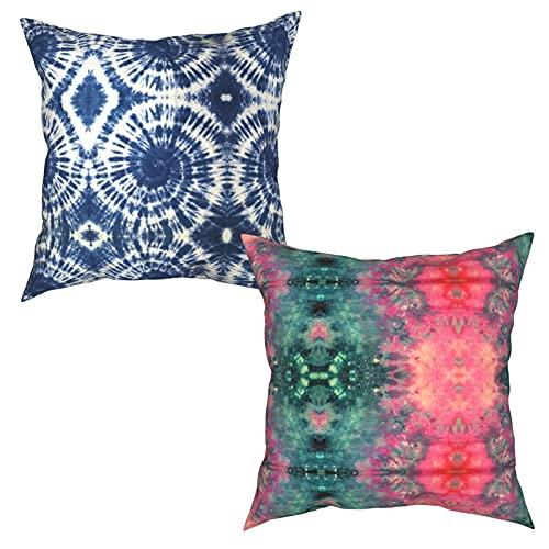 Tie-dye Fashion Stampa Pattern Multi-Size Quadrato Federa Due Pezzi Set Decorazione Soggiorno Divano Camera Da Letto Esterno Cuscino Copertura