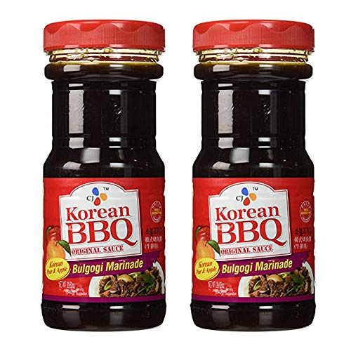 [ Pack of 2 ] CJ Bulgogi Marinade Korean BBQ Sauce, 29.63 Ounce Bottles