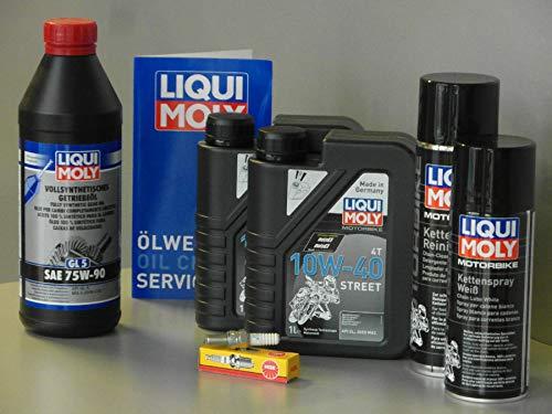 MotorFunSports  Triton Baja 300 - Set de Mantenimiento para inspección con Cadena de Aceite y bujía