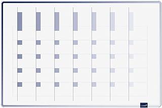 Legamaster 7-490500 - Pizarra de planificación multi-usos, 60 x 90 cm, color azul