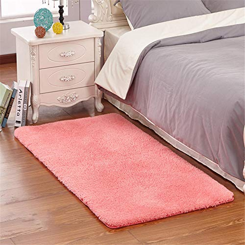Slijtvaste Drawing Roomes Tapijt Puur roze pluizig ontwerp zacht en duurzaam slaapkamer nachtkleed niet-vervagen pluizige tapijten