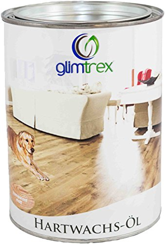glimtrex® Hartwachs-Öl eiche dunkel 1,0l