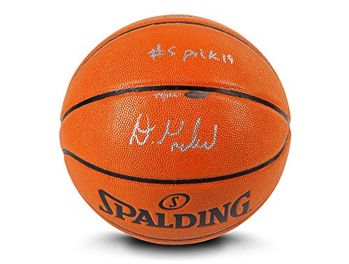 Affordable Upper Deck Darius Garland Autographed & INSCRIBED #5 Pick '19 Indoor/Outdoor Spalding Ba...