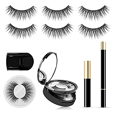 SISILILY Pairs Reusable Eyelashes