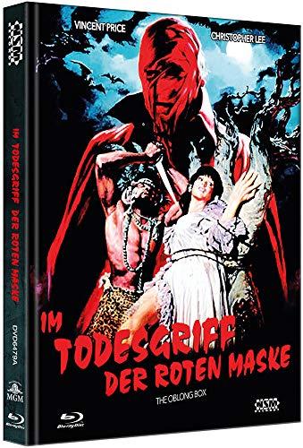 Im Todesgriff der roten Maske - The Oblong Box [Blu-Ray+DVD] - uncut - auf 333 Stück limitiertes Mediabook Cover A