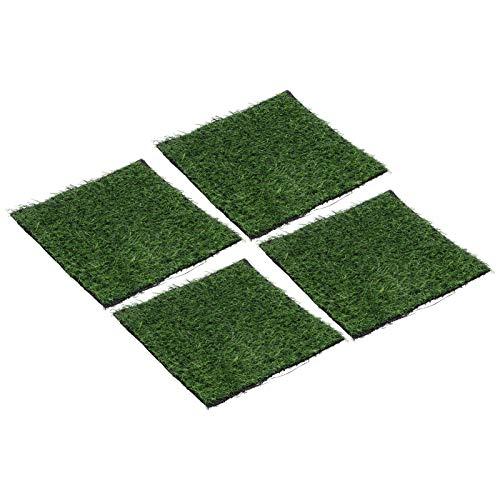SALUTUYA Pet Dog Turf Teppich Kunstrasen Rasen Rasen Selbstklebender Rasen Rasen Teppich für Outdoor-Garten Bodenbelag Dekor