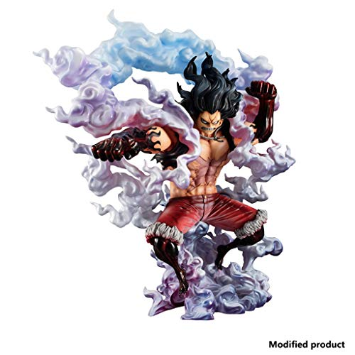 Siyushop Onepiece Portrait of Pirates: Sa-MAX Luffy Snake Man Figura De PVC - Monkey D Luffy Fourth Gear Figura De PVC - Alto 10.6 Pulgadas